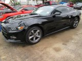 2015 Black Ford Mustang EcoBoost Coupe #104979200