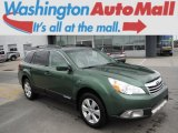 2012 Cypress Green Pearl Subaru Outback 2.5i Limited #104979291