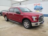 2015 Ruby Red Metallic Ford F150 XLT SuperCrew #105017137