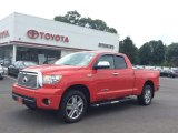 2012 Radiant Red Toyota Tundra Limited Double Cab 4x4 #105017482