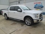 2015 White Platinum Tricoat Ford F150 Lariat SuperCrew #105017135