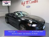 2015 Black Ford Mustang EcoBoost Premium Convertible #105017133