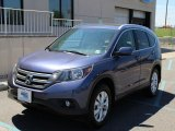 2012 Twilight Blue Metallic Honda CR-V EX-L 4WD #105017543