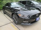 2015 Black Ford Mustang EcoBoost Coupe #105017150