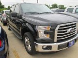 2015 Tuxedo Black Metallic Ford F150 XLT SuperCrew #105017148