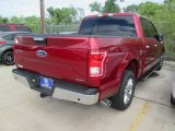 2015 Ruby Red Metallic Ford F150 XLT SuperCrew #105017147