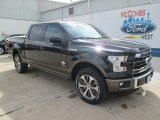 2015 Tuxedo Black Metallic Ford F150 King Ranch SuperCrew 4x4 #105017146
