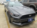2015 Magnetic Metallic Ford Mustang EcoBoost Premium Coupe #105017144