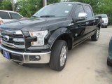 2015 Tuxedo Black Metallic Ford F150 King Ranch SuperCrew 4x4 #105017138