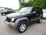 2002 Black Jeep Liberty Sport 4x4 #105051582