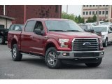 2015 Ruby Red Metallic Ford F150 XLT SuperCrew 4x4 #105051550