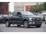 2015 Tuxedo Black Metallic Ford F150 XLT SuperCab 4x4 #105051549