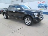 2015 Tuxedo Black Metallic Ford F150 Platinum SuperCrew 4x4 #105051493