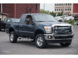 2015 Blue Jeans Ford F250 Super Duty XLT Super Cab 4x4 #105051547