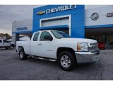 2013 Summit White Chevrolet Silverado 1500 Work Truck Extended Cab #105051672