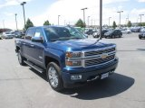 2015 Deep Ocean Blue Metallic Chevrolet Silverado 1500 High Country Crew Cab 4x4 #105051721