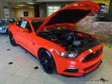 2015 Competition Orange Ford Mustang ROUSH Stage 1 Pettys Garage Coupe #105081860