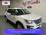 2016 Oxford White Ford Explorer FWD #105082065