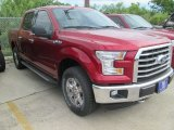 2015 Ruby Red Metallic Ford F150 XLT SuperCrew 4x4 #105082063