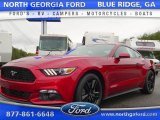 2015 Ruby Red Metallic Ford Mustang EcoBoost Premium Coupe #105081856