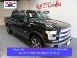 2015 Tuxedo Black Metallic Ford F150 King Ranch SuperCrew 4x4 #105082051