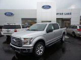 2015 Ingot Silver Metallic Ford F150 XLT SuperCrew 4x4 #105082369
