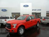 2015 Race Red Ford F150 XLT SuperCrew 4x4 #105082368
