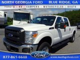 2015 Oxford White Ford F250 Super Duty XL Crew Cab 4x4 #105081841