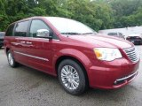 2015 Chrysler Town & Country Deep Cherry Red Crystal Pearl
