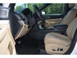 2016 Ford Explorer Limited Medium Light Camel Interior