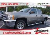 2012 Graystone Metallic Chevrolet Silverado 1500 LS Crew Cab #105082194