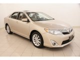 2012 Sandy Beach Metallic Toyota Camry XLE #105082347