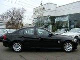 2009 Jet Black BMW 3 Series 328xi Sedan #10495717