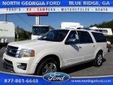 2015 White Platinum Metallic Tri-Coat Ford Expedition EL Platinum 4x4 #105081828