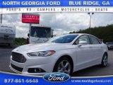 2016 White Platinum Tri-Coat Metallic Ford Fusion SE #105081818