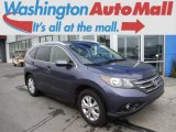 2012 Twilight Blue Metallic Honda CR-V EX-L 4WD #105124957