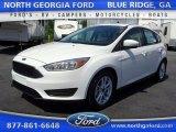 2015 Oxford White Ford Focus SE Hatchback #105144282