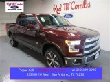 2015 Bronze Fire Metallic Ford F150 King Ranch SuperCrew 4x4 #105151294