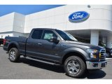 2015 Ford F150 XLT SuperCab 4x4 Front 3/4 View