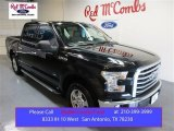 2015 Tuxedo Black Metallic Ford F150 XLT SuperCrew #105151292