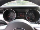 2015 Ford Mustang GT Premium Coupe Gauges