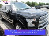 2015 Tuxedo Black Metallic Ford F150 Platinum SuperCrew 4x4 #105175704