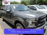 2015 Magnetic Metallic Ford F150 XL SuperCab #105175702