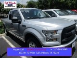 2015 Ingot Silver Metallic Ford F150 XL SuperCab #105175701