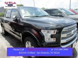2015 Tuxedo Black Metallic Ford F150 Platinum SuperCrew 4x4 #105175692