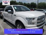 2015 White Platinum Tricoat Ford F150 Platinum SuperCrew 4x4 #105175691