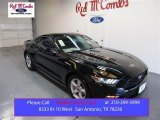 2015 Black Ford Mustang EcoBoost Coupe #105175689