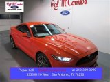 2015 Competition Orange Ford Mustang GT Premium Coupe #105175688
