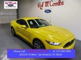 2015 Triple Yellow Tricoat Ford Mustang GT Premium Coupe #105175687