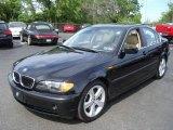 2005 Jet Black BMW 3 Series 330i Sedan #10491861